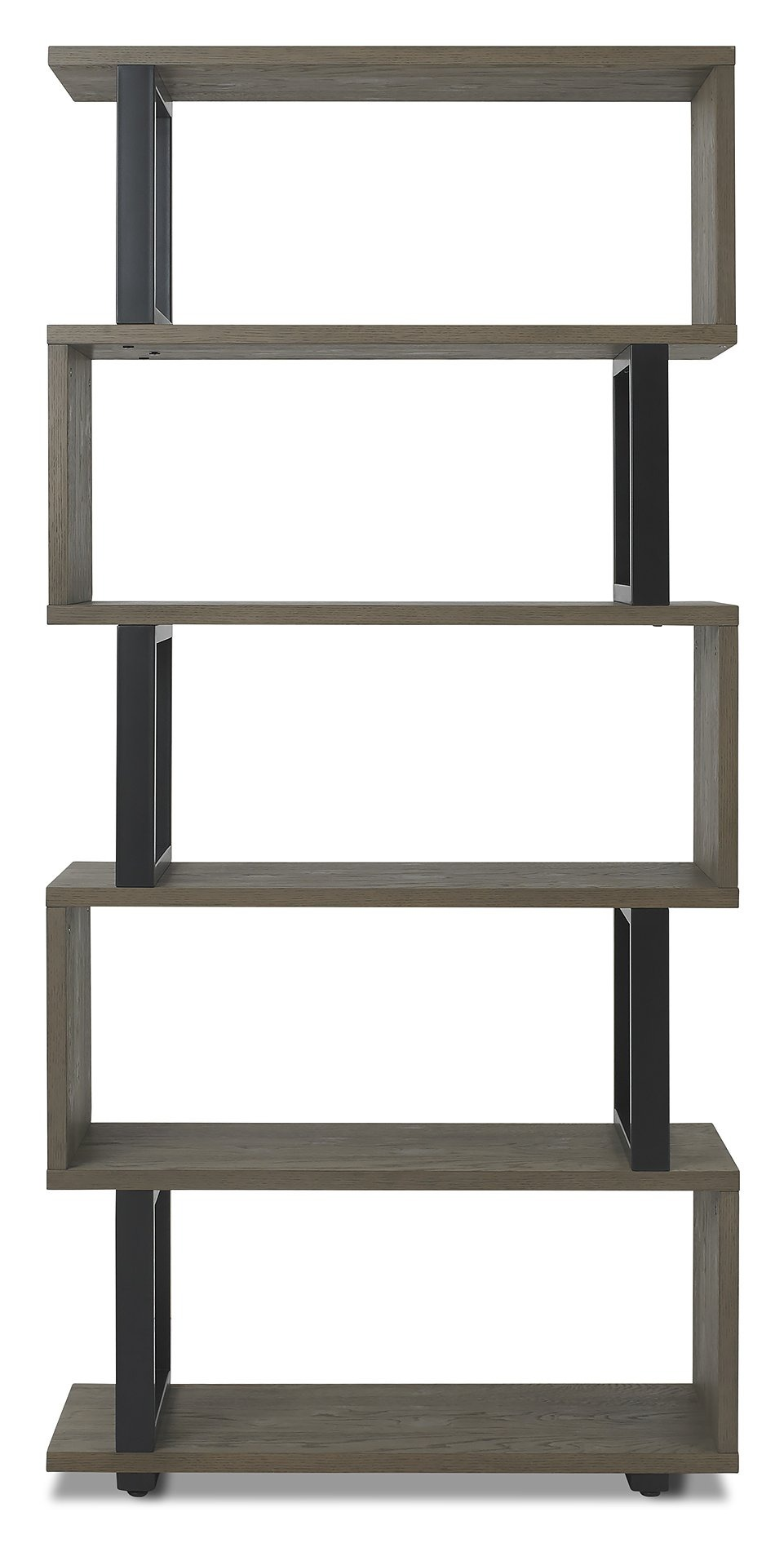 BRINDISI OPEN BOOKCASE - FRONT VIEW