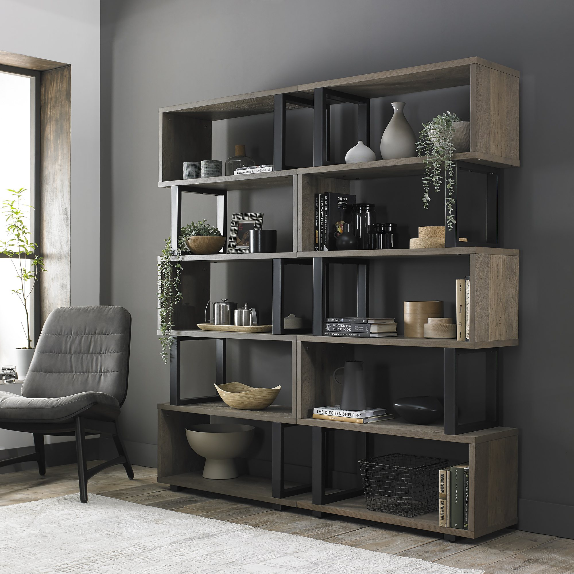 BRINDISI OPEN BOOKCASE (X2) SIDE BY SIDE jpg