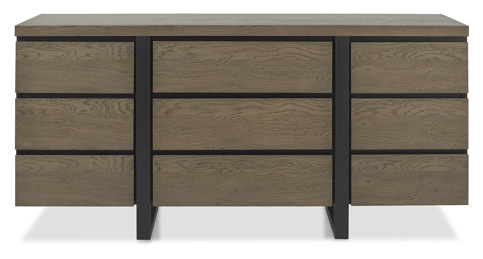 BRINDISI WIDE SIDEBOARD - FRONT VIEW