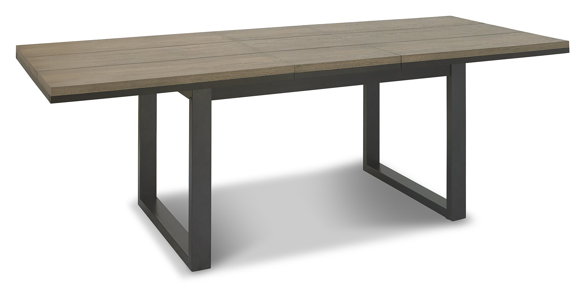 BRININDISI 6-8 EXTENDING DINING TABLE - OPENED