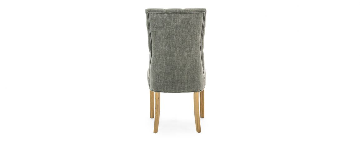 EVIAN DINING CHAIR - BACK DETAIL