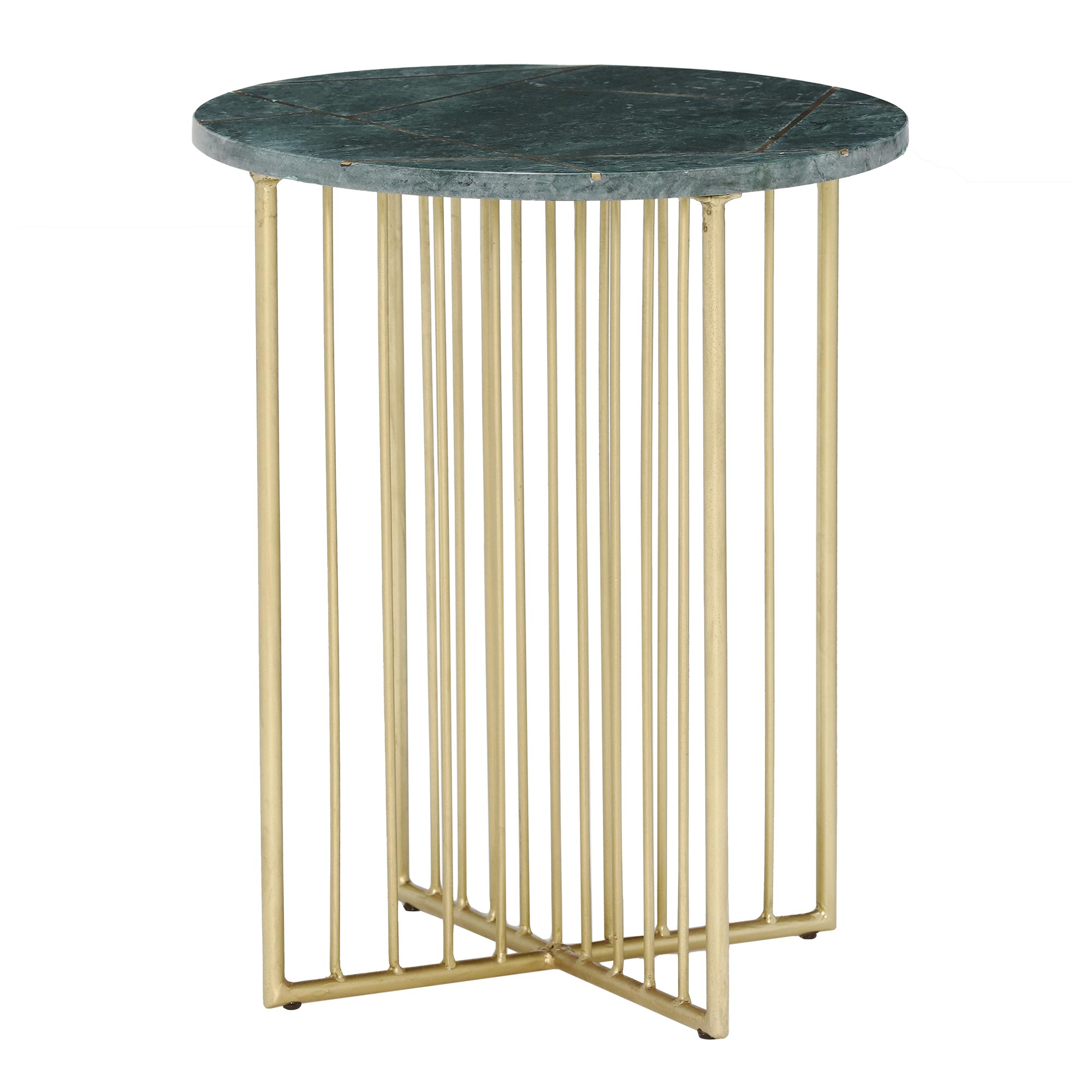 INSIGNIA LAMP TABLE - FRONT DETAIL