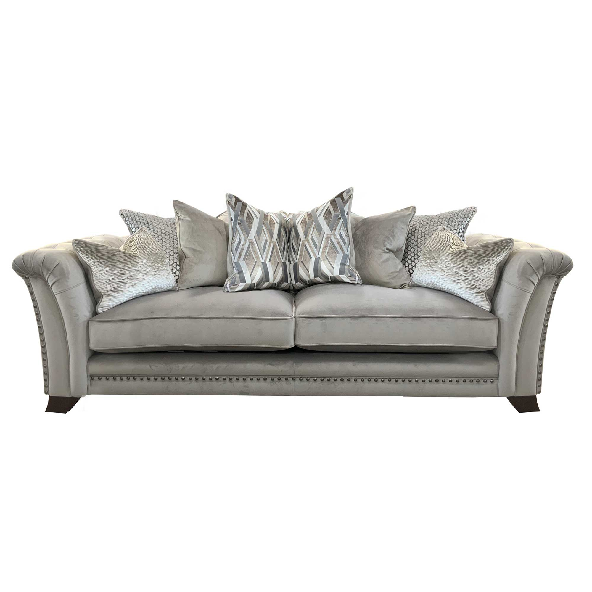 LUTON 4 SEATER PILLOW BACK