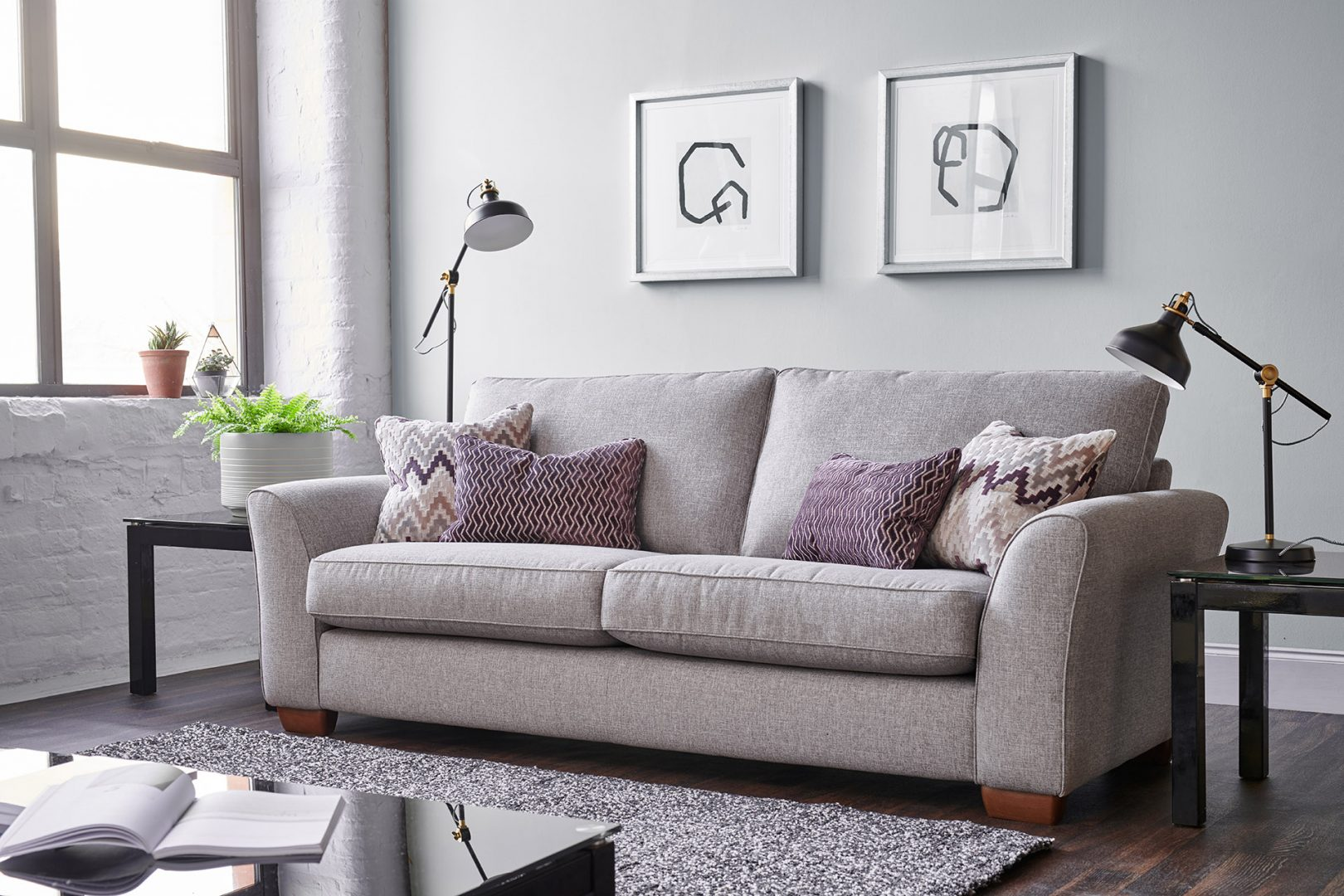 PICCADILLY 3 SEATER SOFA